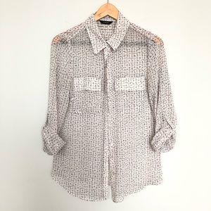 Marks & Spencer Autograph floral blouse nwot